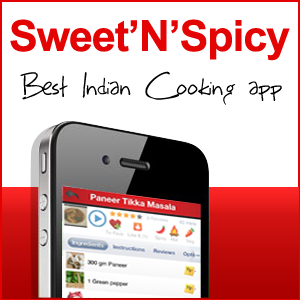Sweet'N'Spicy Indian recipes app