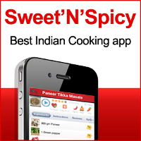 Sweet'N'Spicy Recipes app